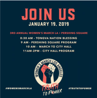 3rd Annual Women's March LA