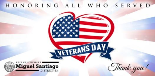 Veterans Day Events and Resources