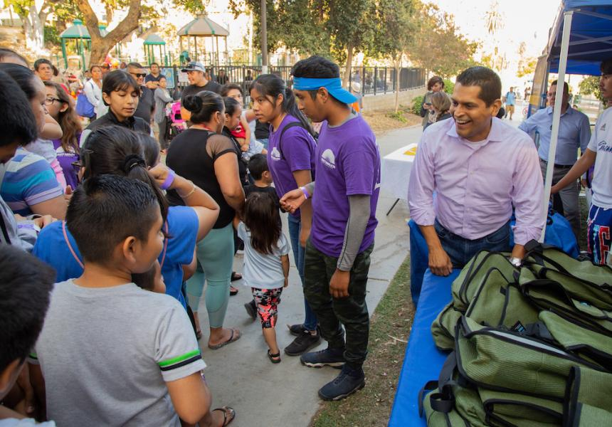 free backpack giveaway sacramento
