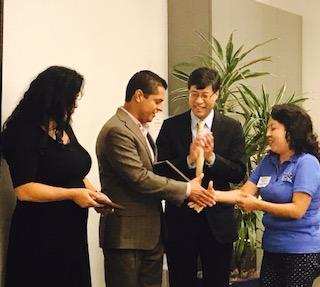 Assemblymember Miguel Santiago Honored as a Child Care Champion