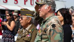 Veterans in uniform